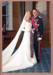 (28) Wedding Mette-Marit & Haakon, 2001 (17 x 12 cm)