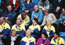(19) Royal guests from Luxembourg, Greece, Sweden, Norway, Olympics 1994 (17 x 12 cm)