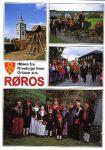 (272) Queen Sonja in national costume visiting Røros