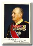 (89) King Olav (17 x 12 cm)