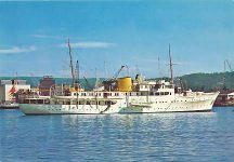 """(364) Royal yacht """"Norge"""""""