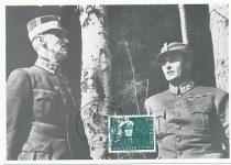 (377) Haakon VII & Olav, 1940 (maxicard from 1983)
