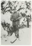 (394) Crown Prince Olav, 1920's (modern postcard 1991 - 17 x 12 cm)