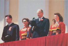 (403) The Royal Family, 17. mai 1995 (17 x 11,5 cm)