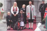 (412) Mette-Marit & Haakon with children, National Day 2011