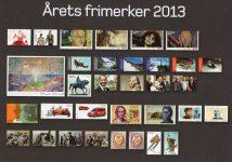 (454) New Norwegian stamps 2013