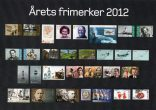 (453) New Norwegian stamps 2012