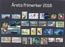 (455) New Norwegian stamps 2016