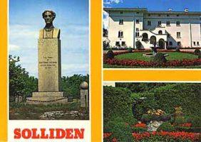(198) Solliden - statue of queen Victoria