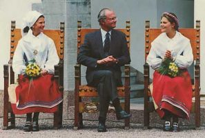 (505) Silvia, Carl Gustaf & Victoria (17 x 12 cm)