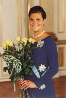 (508) Crown Princess Victoria, 1995 (17 x 12 cm)