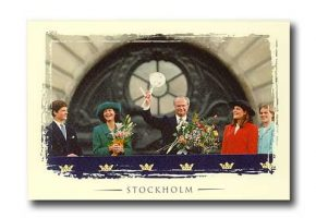 (516) The Royal Family, 1996 (17 x 12 cm)