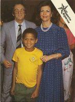 (339) Queen Silvia in Brazil, 1984