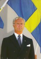 (283) King Carl Gustaf (15 x 10 cm)