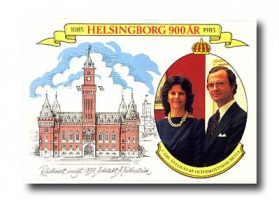 (405) Silvia & Carl Gustaf, 1985