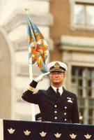(571) King Carl Gustaf (17 x 11,5 cm)