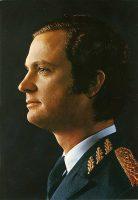 (584) King Carl Gustaf, 1970's (21 x 15 cm)