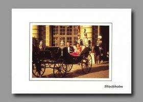 (618) Silvia & Carl Gustaf (17 x 12 cm)