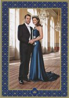 (695) Victoria & Daniel (official card on occasion of the wedding)