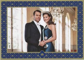 (698) Victoria & Daniel (official card on occasion of the wedding)