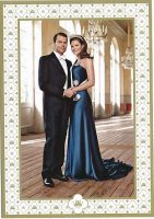 (701) Victoria & Daniel (official card on occasion of the wedding)