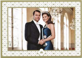 (703) Victoria & Daniel (official card on occasion of the wedding)