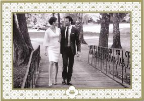 (706) Victoria & Daniel (official card on occasion of the wedding)