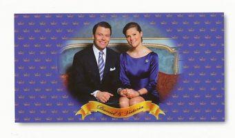(709) Engagement Victoria & Daniel (18 x 10,5 cm)
