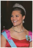 (713) Crown Princess Victoria (17 x 12 cm)