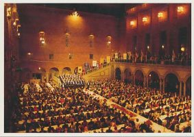 (726) The Nobel Banquet at the Stockholm City Hall