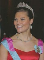 (733) Crown Princess Victoria (14,5 x 10,5 cm)