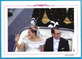 (909) Wedding Victoria & Daniel, June 2010 (18 x 13 cm)