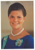 (980) Crown Princess Victoria, 1995