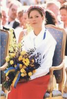 (990) Crown Princess Victoria (17 x 11,5 cm)