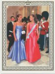 (995) Victoria, Carl Philip & Madeleine, 2000 (double card 19,5 x 14 cm when folded)