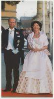 (1005) Silvia & Carl Gustaf (24 x 13 cm)