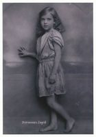 (1009) Princess Ingrid , 1917 (modern large postcard 21 x 15 cm)