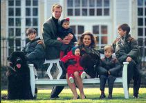 (9) Maria Teresa, Henri & children