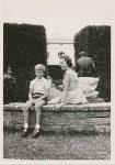 (17) Christina & Carl Gustaf, Solliden (Nilsson-Foto 12,5 x 9 cm)