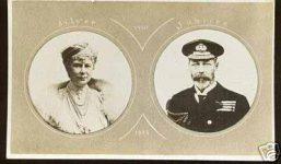 (123) Mary & George V, Silver Jubilee 1935
