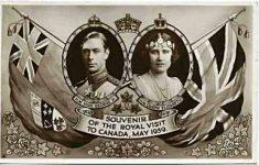 (53) George VI & Elizabeth, visit to Canada
