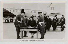 (165) Elizabeth & Philip - visit to Canada