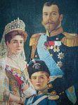(32) Tsar, Tsarina & son, Helsinki city Museum