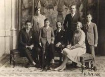 (20) Spanish royal family, ca. 1920