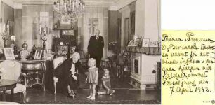 (19) Prince Oscar Bernadotte & family
