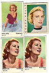 (1) Swedish tradecards Grace Kelly
