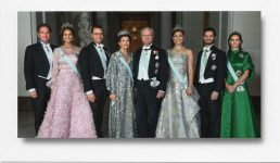 (1147) The Royal Family, December 2016 (18 x 10,5 cm)