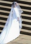 (1866) Meghan, Duchess of Sussex as a bride, 19.05.18 (17 x 12 cm)