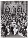 (20) Wedding Princess Alexandra & Angus Ogilvy, 1963 (press photo The Central Press Photos Ltd., 16 x 11,5 cm)
