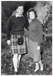 (23) Princess Alexandra & Angus Ogilvy, 1963 (press photo The Central Press Photos Ltd. ?, 16 x 11 cm)